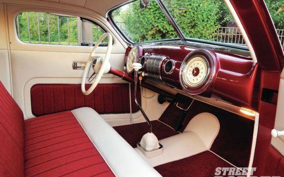 1940 Ford Interior