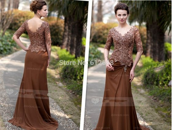 Find More Mother of the Bride Dresses Information about Gorgeous Designer Sexy Lace Applique Vintage A line Mother of the Bride Dress Half Sleeves V Neck Sweep Train Zipper Back 2014,High Quality dress life,China dress export Suppliers, Cheap appliqued pillow from holy love on Aliexpress.com