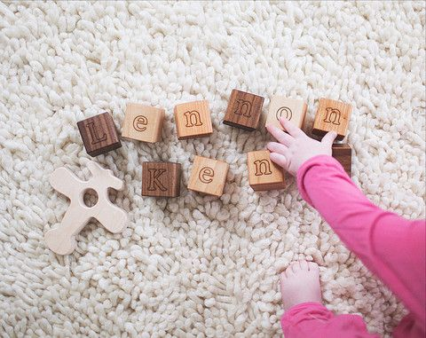 10 Personalized Name Blocks