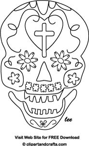 Adult coloring, Skull face mask and Printable paper on ...