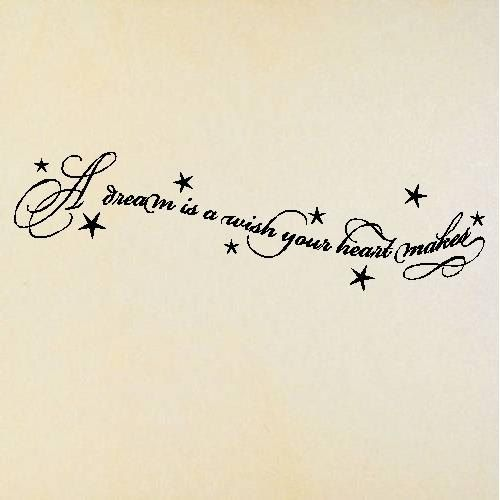 Tattoo Quotes Dreams: New Tattoo Quote? Pooooosssssibly :) I Sing This Song To