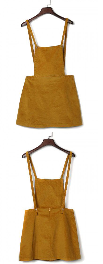 Overall Dress Overalls And Yellow On Pinterest