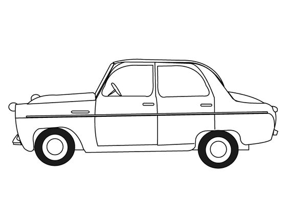 Coloring pages Cars and Coloring