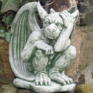 Gargoyle Torwachter Gartenschilder Gartenfiguren Gotische Wasserspeier