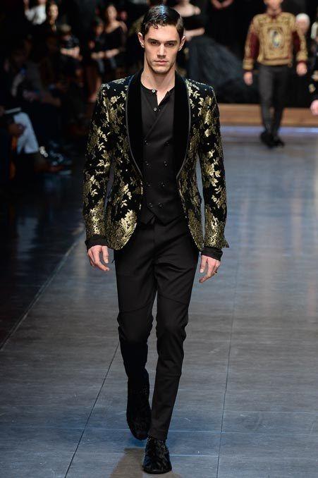 Dolce & Gabbana Fall 2015 Menswear Collection Photos - Vogue