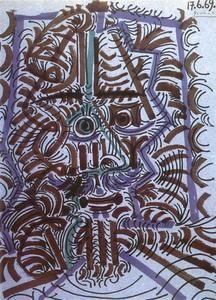 Chef de l homme - (Pablo Picasso)