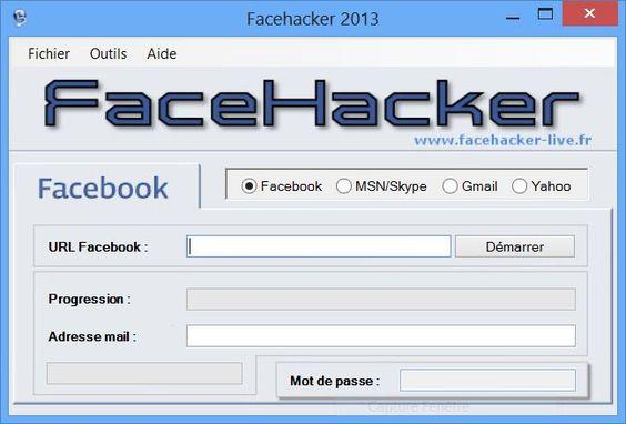 Comment pirater un compte Facebook hacker, telecharger gratuitment. Telecharger ici: http://goo.gl/BhGFel    Vous revez d'acedez au facebook d'une perssone que vous connaiser mais vous n'avez pas les moyens neccesaire pour avoir sont mot de passe facebook grace a notre logiciel facebook hack vous pourrez a présent savoir n'importe quel mot de passe facebook en quelques minutes.
