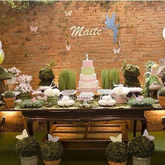 """""""Que linda esta Festa Sininho. Pic via @navilafestas #encontrandoideias #blogencontrandoideias"""""""