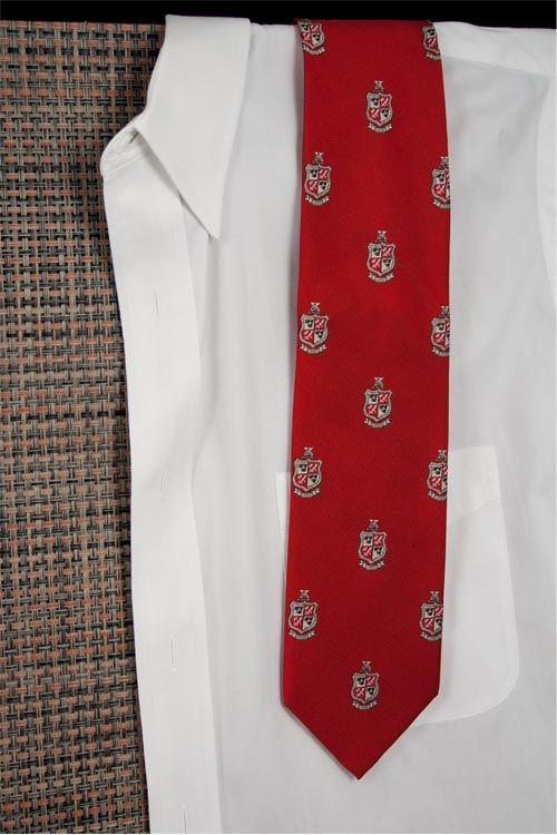 Delta Chi Red Club Tie