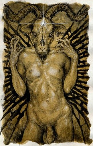 My favorite Baphomet depiction.