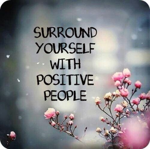 Surround yourself with positive people. #motivation #selfemployed www.OneMorePress.com