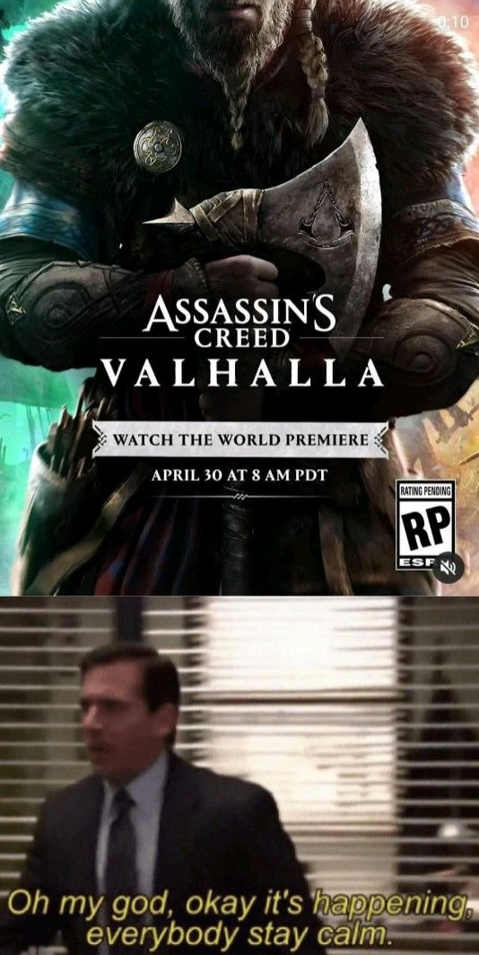 Assassin S Creed Valhalla Memes Odin Is With Us In 2020 Assassin Assassin S Creed Assassins Creed