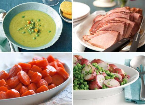 5 Menus For Easter Entertaining via @Kitchen Daily