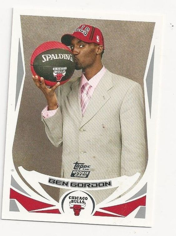 2004/05 Topps Basketball #223 Ben Gordon  Rookie MINT FROM PACK #ChicagoBulls