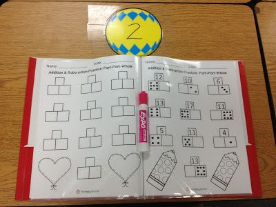 math worksheet : teach addition  subtraction using part part whole put worksheets  : Independent Practice Math Worksheet