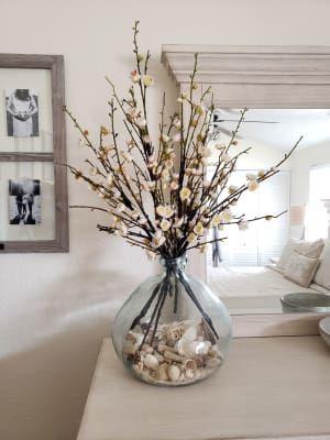 Clear Barcelona Vases  World Market  Floor vase decor, Decor