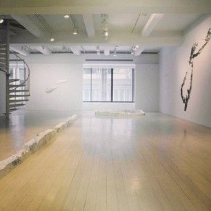 "Last day to see ""Maya Lin: Here and There"" at 32 E. 57th St. Swing by!"
