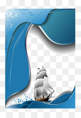 sailboat sea blue png vector material free png image free download illustration vector ship vector desain grafis kapal desain pinterest
