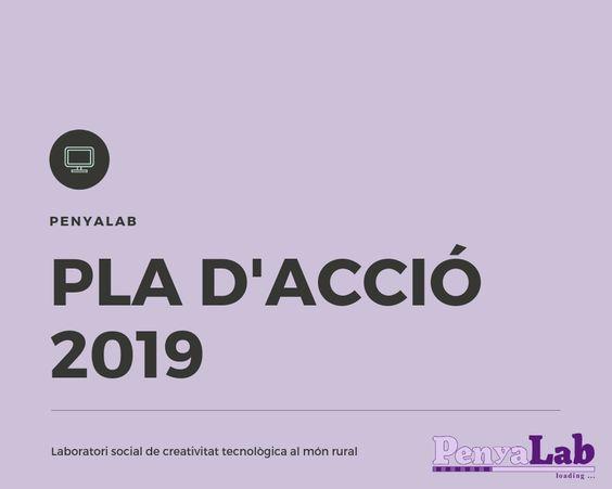 Pla d'acció PenyaLab 2019