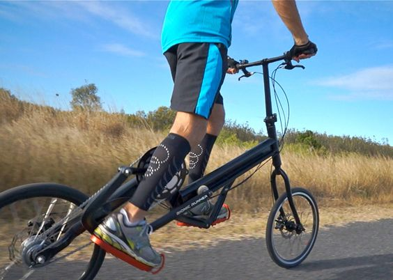 "Bionic Runner combines cycling and jogging for ""injury-free"" running."