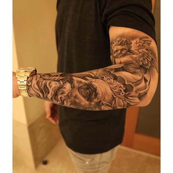 1000 Ideas About Men S Forearm Tattoos On Pinterest: Eric Marcinizyn Staten Island (Bullseye Tattoo)