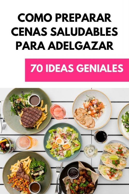 tips para una cena saludable