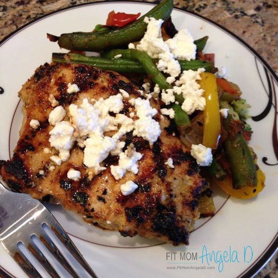Lemon Dijon Pork Chop Marinade 21 Day Fix Approved Www Fitmomangeald Com 21 Day Fix Dinners Pinterest Pork Chop Pork And Lemon