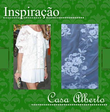 #lace #renda #branco