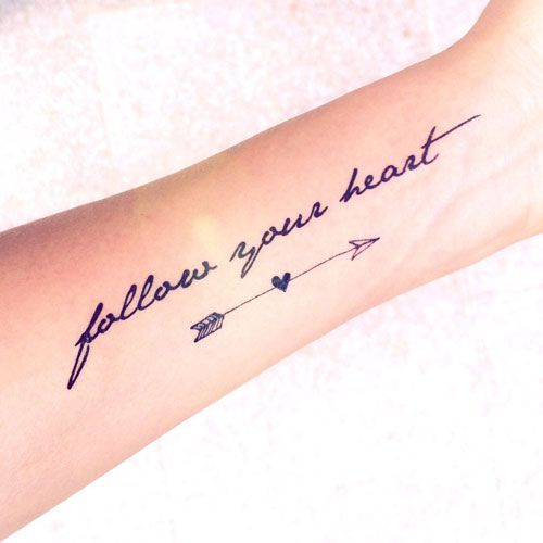 Cute Arrow Tattoo Ideas For Women Best Tattoos For Women Cute Unique And Meaningful Tattoo Ideas For Girls Arrow Tattoos For Women Tattoos Tattoo Fonts