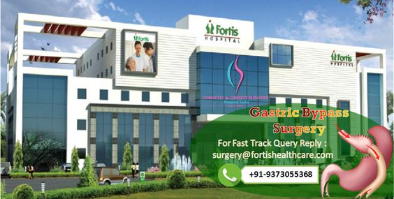 Obesity Surgery at Fortis Hospital India