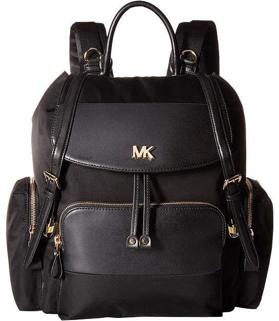 Michael Michael Kors Mott Large Flap Diaper Bag Backpack Backpack Bags Baby Girl Diaper Bags Michael Kors Diaper Bag Girl Diaper Bag