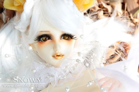 Snowy, 58cm Gem of Doll Girl - BJD Dolls, Accessories - Alice's Collections