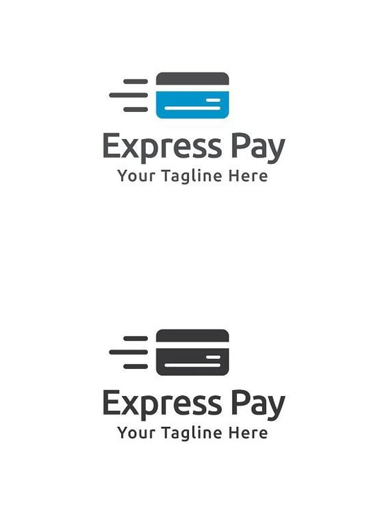 Express Pay Logo Template - pay template