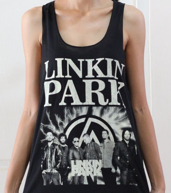 linkin park new t and tank tops on pinterest. Black Bedroom Furniture Sets. Home Design Ideas