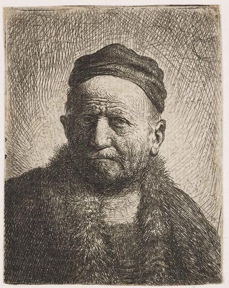 Rembrandt van Rijn, Man with Skullcap, 1630 on ArtStack #rembrandt #art