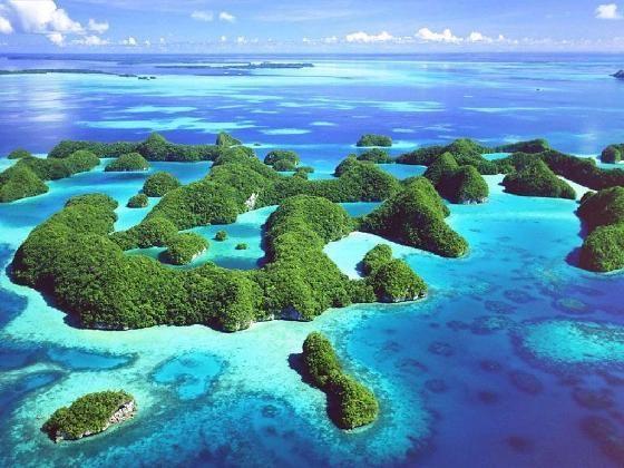 Tour du monde autour des îles du Pacifique