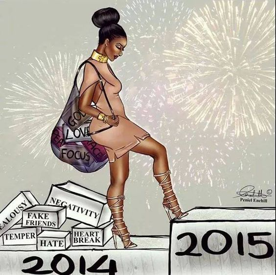 """type """"YES"""" if... ...You are determined to leave the 2014 baggage that has been holding you back from reaching your destiny... and you are ready to take massive action to achieve your goals in 2015!"""