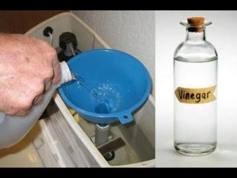 Pour Vinegar In Your Toilet Tank And The Result Is Incredible Youtube Vinegar In Toilet Tank Toilet Tank Cleaning Toilet Tank