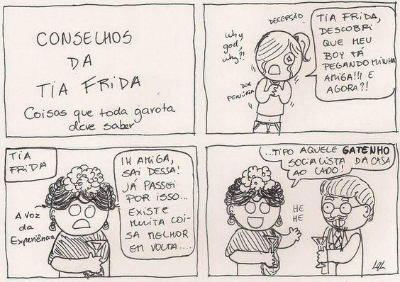 Conselhos da tia Frida para uma vida melhor