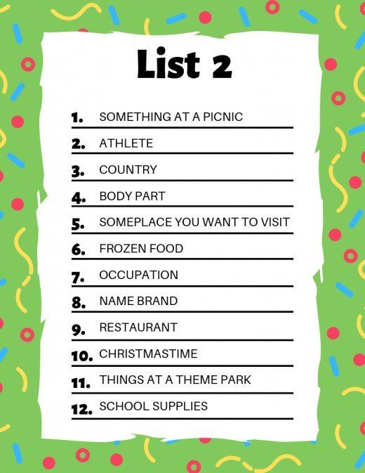 Scattergories Lists To Play With Your Friends Online Games For Kids Scattergories Lists Class Games