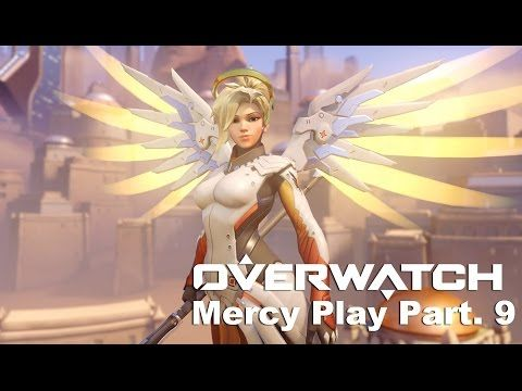 VJ Troll's game video: Overwatch KR Server Play Moments # Mercy Part . 9 ...