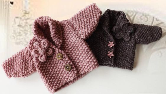 The Coziest Chunky Knit Cardigan Patterns Ever Perlmuster, Strickmuster und...
