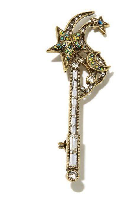 Prince Wand: Heidi Daus Magical Wand Crystal Pin
