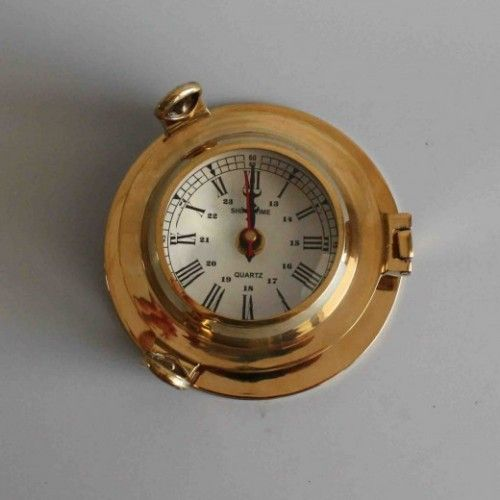 Ship Clock Nautical Clock Nautical Clocks Ships Clock Brass Ship