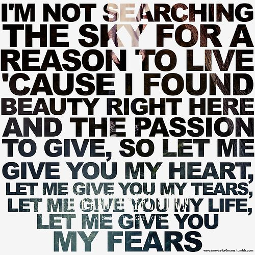 The Amity Affliction - Open Letter