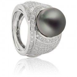 Anillos con perlas Poema, anillos perla - Ocarat