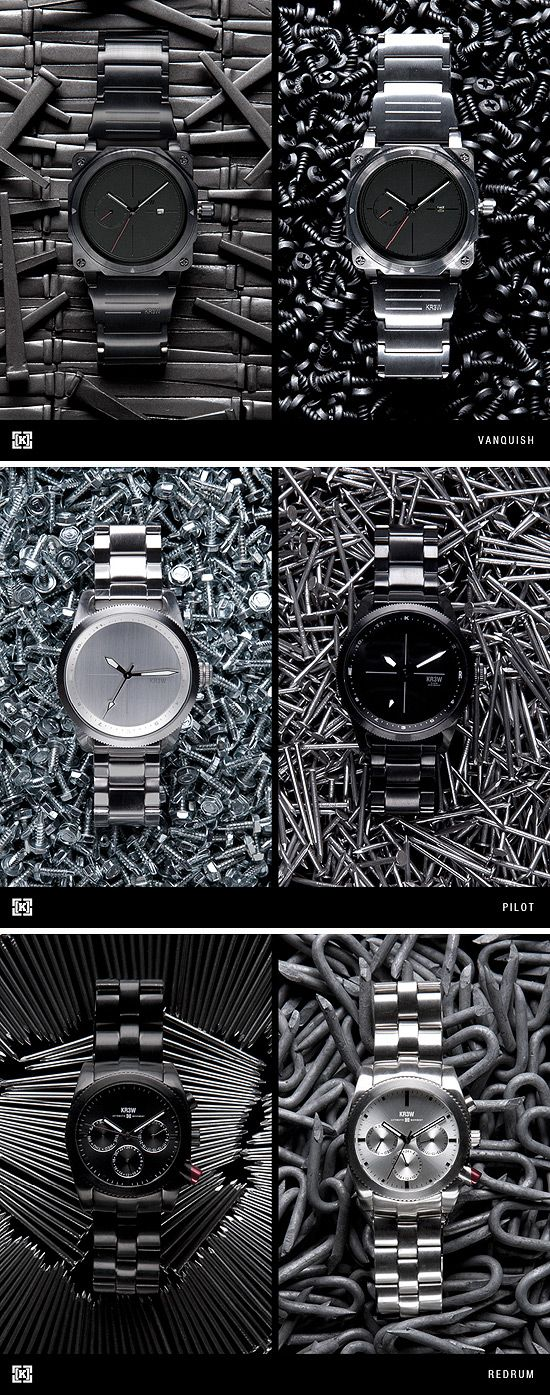 KR3W Holiday Watch Collection. Dejarsus de mierdas de relojes de colorines. Gracias.