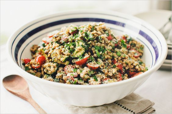 RATATOUILLE BARLEYSALAD - SPROUTED KITCHEN - A Tastier Take on Whole Foods