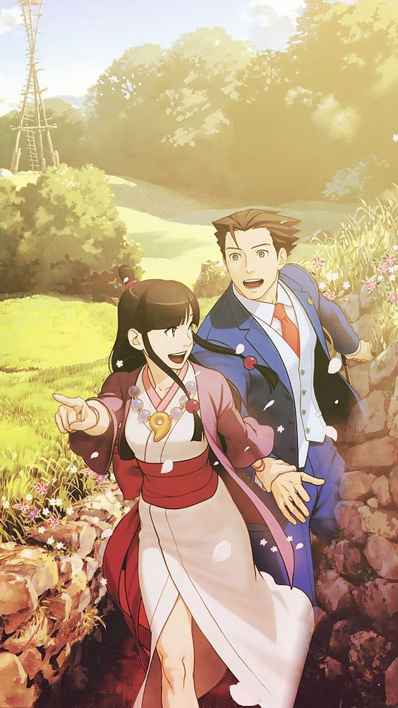 Ace Attorney Wallpapers Nanahoshis Tumblr Picture For You Phoenix Wright Ace Attorneys