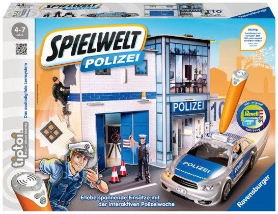 Die Tiptoi Spielwelt Polizei erscheint im September 2016 (Foto: Ravensburger).